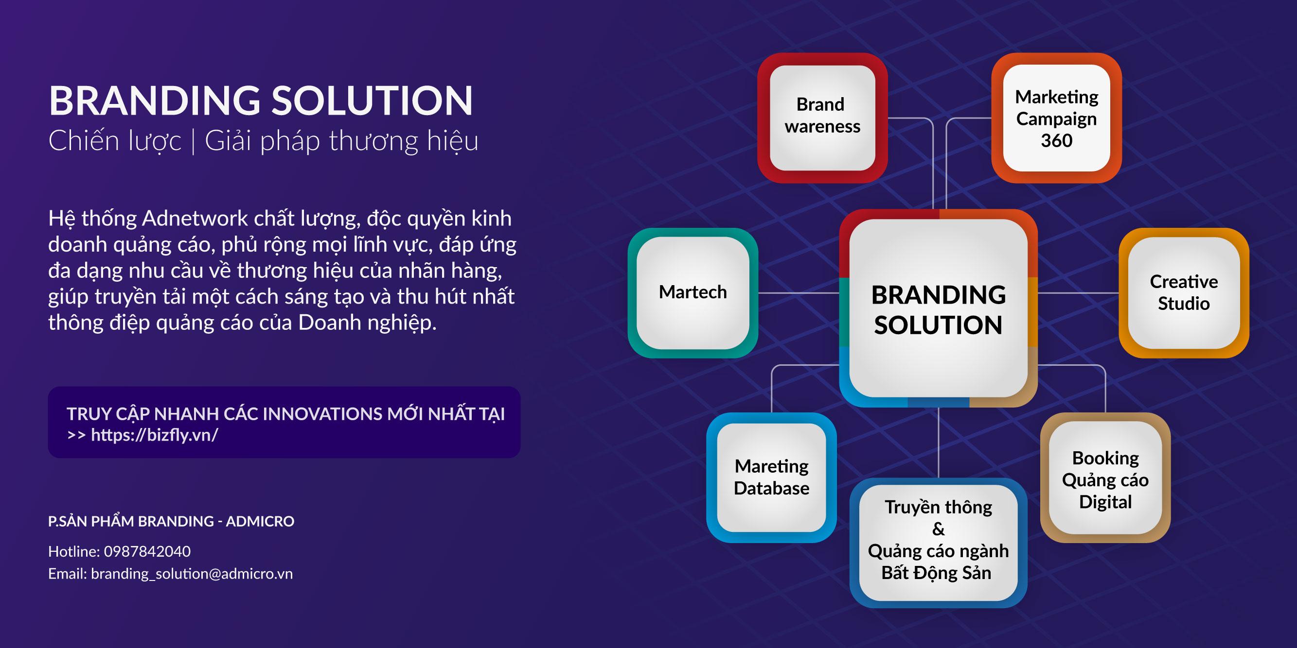 Branding solution